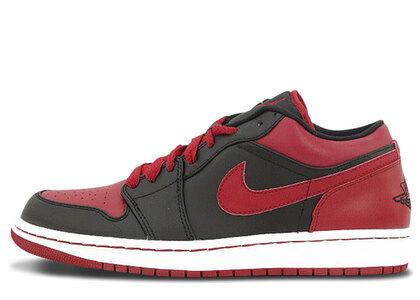Nike Air Jordan 1 Phat Low Black/Varsity Red-Whiteの写真