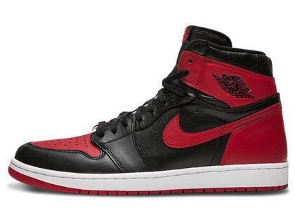 Nike Air Jordan 1 Retoro Homage To Homeの写真