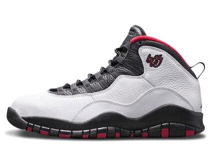 Nike Air Jordan 10 Retro White/Black-True Redの写真