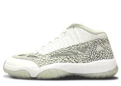 Nike Air Jordan 11 Retoro Low IE White/Cobalt-Zen Grey-Cement Greyの写真