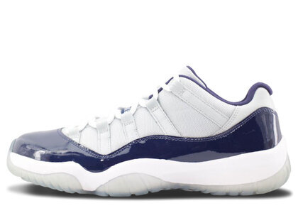 Nike Air  Jordan 11 Retro Low Gray Mist/White-Midnight Navyの写真