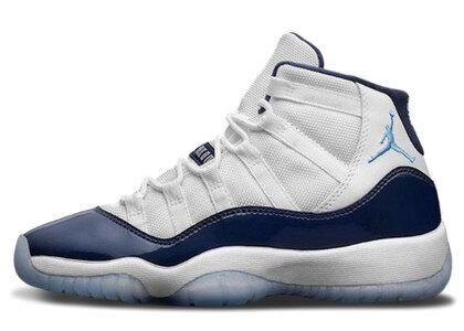 Nike Air Jordan 11 Retro White/Midnight Navy-University Blueの写真