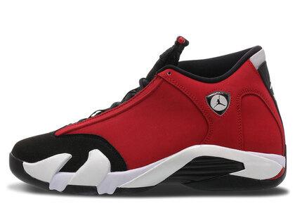 Nike Air Jordan 14 Retro Black/White-Off White-Gym Redの写真
