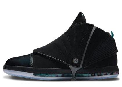 Nike Air Jordan 16 Black/Turbo Green/Court Purple/Metallic Silverの写真