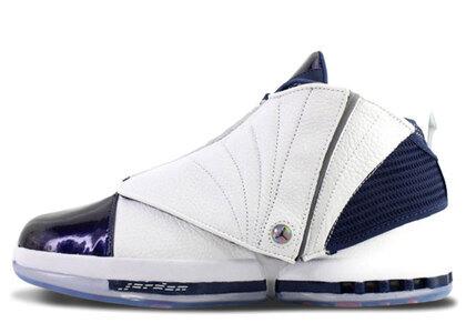Nike Air Jordan 16 Retoro White/White-Midnight Navyの写真