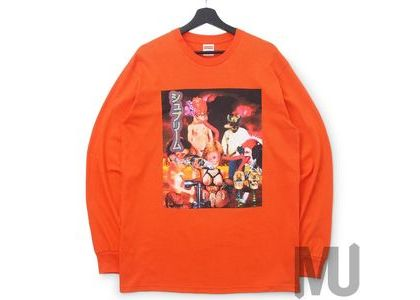 Supreme Sekintani La Norihiro L-S Tee Bright Orangeの写真