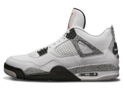 Nike Air Jordan 4 '89 Retoro White/Black-Cementの写真