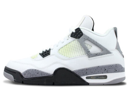 Nike Air Jordan 4 Retoro White/Black-Cement Greyの写真