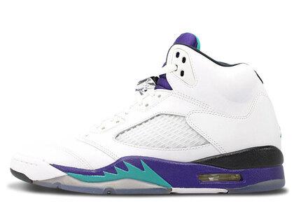 Nike Air Jordan 5 Retro New Emerald-Grape Iceの写真