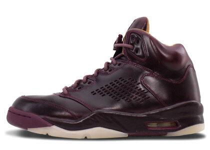 Nike Air Jordan 5 Retro Premium Bordeauxの写真