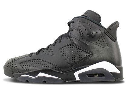 Nike Air Jordan 6 Retoro Black/Black-Whiteの写真