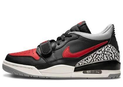 Nike Air Jordan Legacy 312 Low Black/Varsity Red-Blackの写真