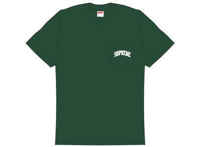 Supreme NFL x Raiders x '47 Pocket Tee Dark Greenの写真
