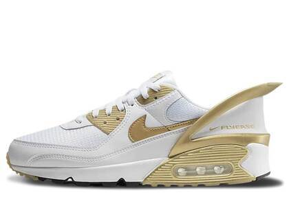 Nike Air Max 90 Flyease White Goldの写真
