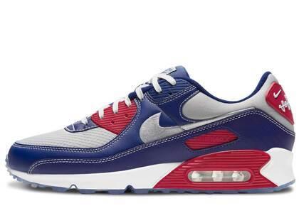 Nike Air Max 90 Navy/Grey/Redの写真