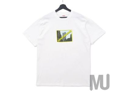 Supreme Greetings Tee Whiteの写真