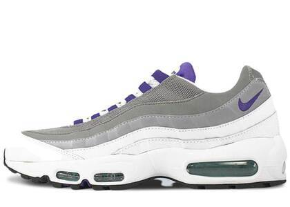 Nike Air Max 95 OG White/Coute Purple-Emerald Green-Wolf Greyの写真