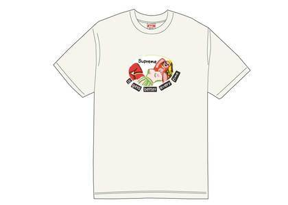 Supreme It Gets Better Every Time Tee Whiteの写真