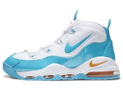Nike Air Max Uptempo 95 White/Blue Fury-Canyon Goldの写真
