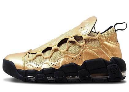 Nike Air More Money Metallic Gold Blackの写真