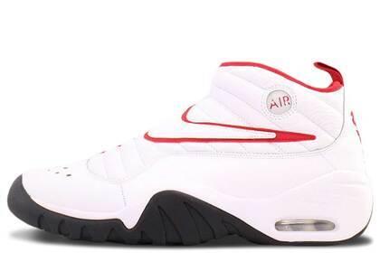 Nike Air Shake Ndestrukt White/White-Black-Redの写真