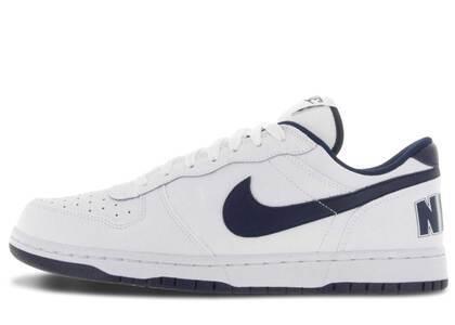 Nike Big Nike Low White/Midnight Navyの写真