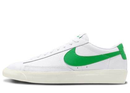 Nike Blazer Low Leather Green Sparkの写真