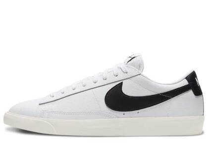 Nike Blazer Low Leather White Blackの写真