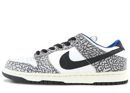 Nike Dunk SB Low Supreme White Cement (2002)の写真