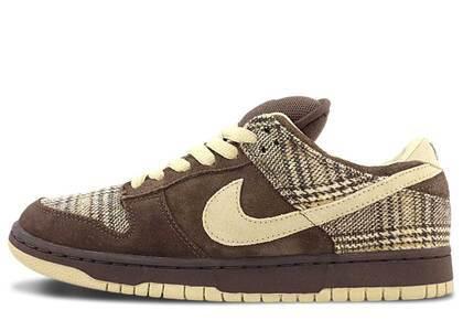 Nike Dunk SB Low Tweedの写真