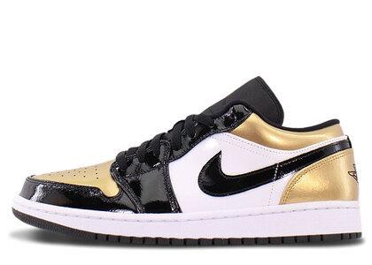 Nike Air Jordan 1 Low Gold Toeの写真