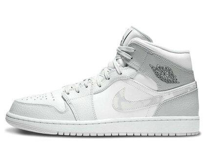 Nike Air Jordan 1 Mid Grey Camoの写真