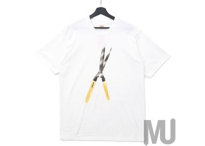 Supreme Shears Tee Whiteの写真