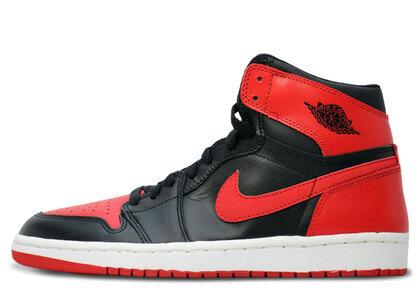Nike Air Jordan 1 Retoro Bred (2001)の写真