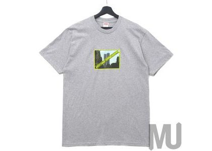 Supreme Greetings Tee Heather Greyの写真