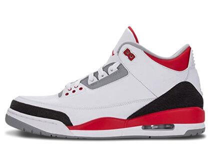 Nike Air Jordan 3 Retoro Fire Red (2013)の写真
