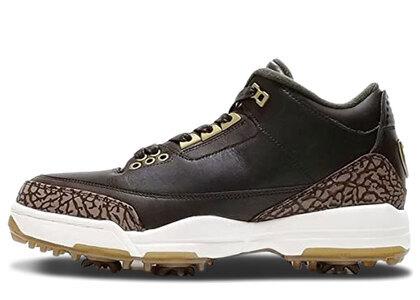 Nike Air Jordan 3 Retoro Golf Brownの写真