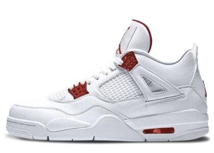 Nike Air Jordan 4 Retoro Metallic Redの写真