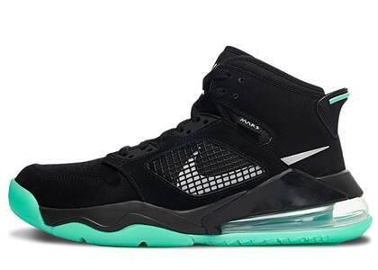 Nike Air Jordan Mars 270 Black/Silver-Green GLowの写真