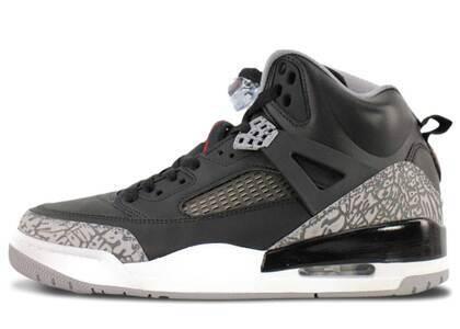Nike Air Jordan Spiziki Black/Varsity Red Cement Greyの写真