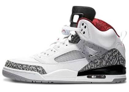 Nike Air Jordan Spiziki White/Varsity Red-Cement Greyの写真