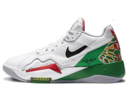 Nike Air Jordan Zoom 92 Summit White/Black-Lucky Greenの写真