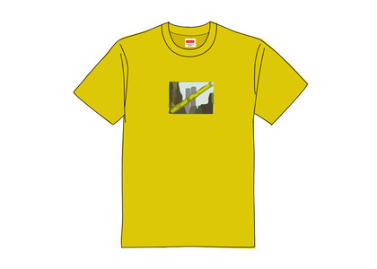 Supreme Greetings Tee Acid Yellowの写真