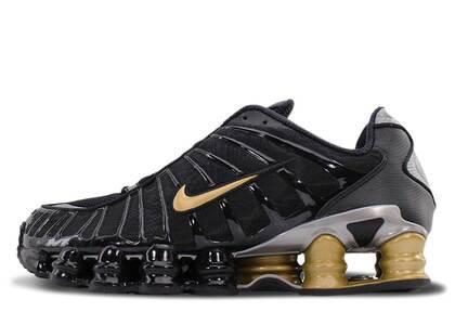 Nike Neymar JR × Nike Shox TL Black/Metallic Goldの写真