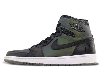 Nike SB Air Jordan 1 Black/Black-Silverの写真
