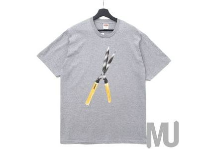 Supreme Shears Tee Heather Greyの写真