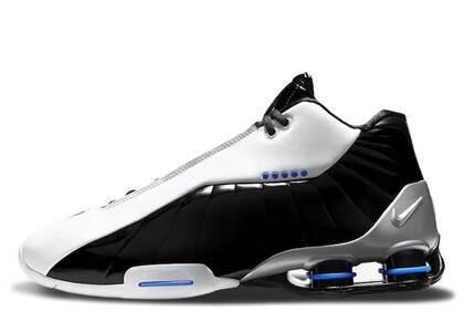 Nike Shox BB4 White/Black-Blueの写真