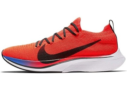 Nike Vaporfly 4% Flyknit Bright Crimson/Black-Sapphireの写真
