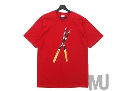 Supreme Shears Tee Redの写真