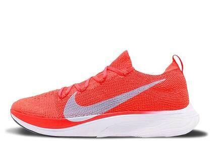 Nike Vaporfly 4% Flyknit Bright Crimson/Ice Blueの写真